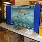 Ellis County booth at Water & Energy Festival in Hays on Oct. 12th.