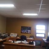 KCBPU LED project tour another employee office